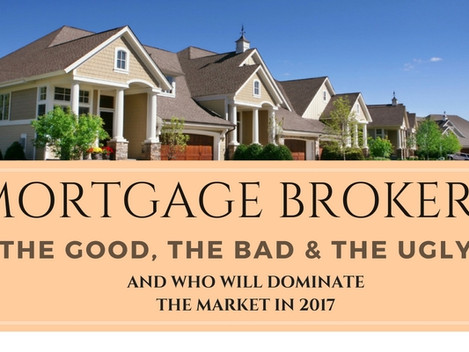 Mortgage Brokers: The Good, The Bad, And The Difference