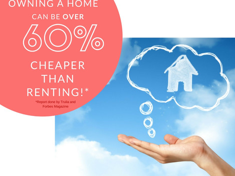 Buying a Home is Cheaper Than Renting