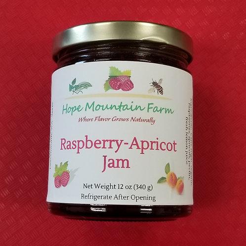 Raspberry Apricot Jam