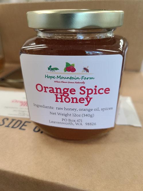 Orange Spice Honey