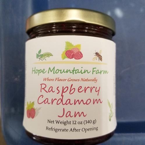 Raspberry Cardamom Jam