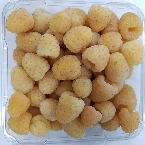 Organic Yellow Raspberries - Frozen 5# bag