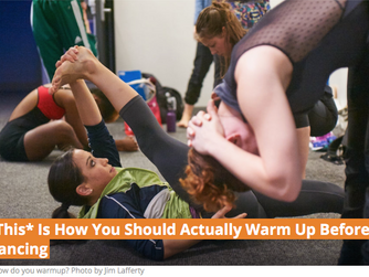 *This* Is How You Should Actually Warm Up Before Dancing