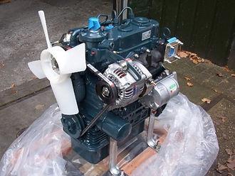 KUBOTA D902 EXCAVATOR SPEC DIESEL ENGINE