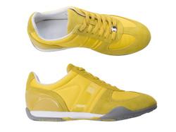 Chaussures de sport jaune