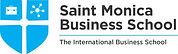 St Monica Busness School logo