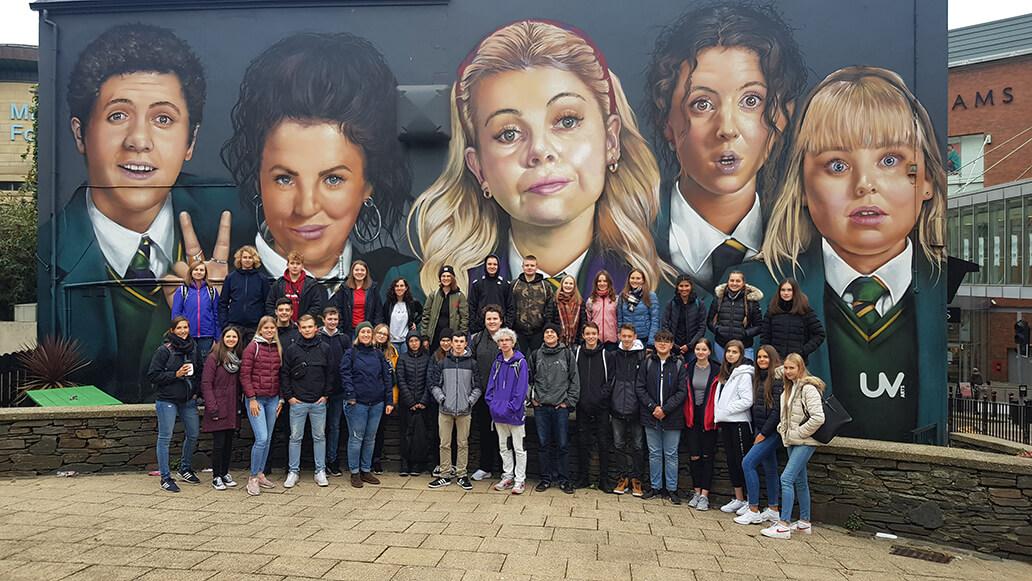 Derry Girls mural (1)