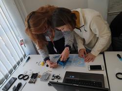 Robotics workshop in Derry