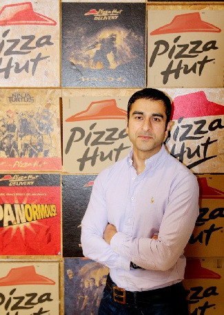 Neil Manhas, General Manager of Pizza Hut Delivery and Express UK