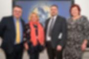 Dr. Stephen Farry (MLA), Dr. Geraldine Horigan, Dr. Terry McIvor, Dr. Joanne Stuart