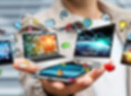 digital media, laptop, mobile, ipad