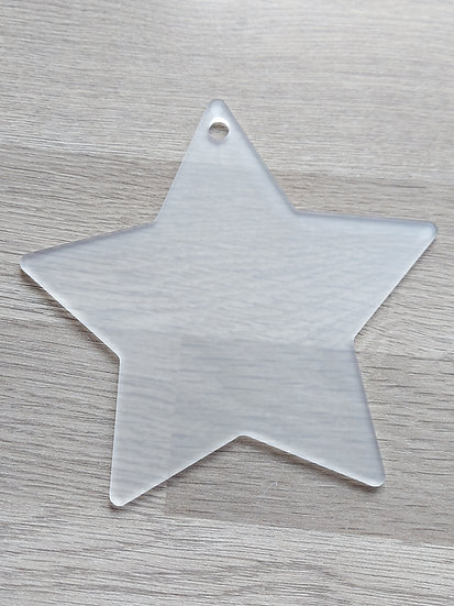 Acrylic Star blank