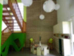 Microcrèche les Petits Petons à Lagny sur Marne réalisée par l'Atelier Miquel Architecture (AMA)