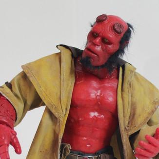 Hellboy Silicone Action Figure