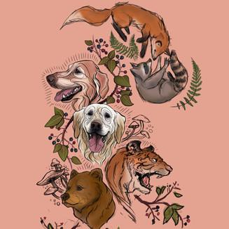 Digital Tattoo Animal Compilation