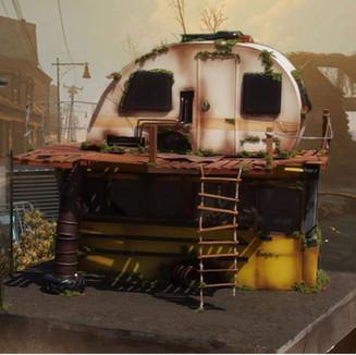 Caravan Wreck Animation Set