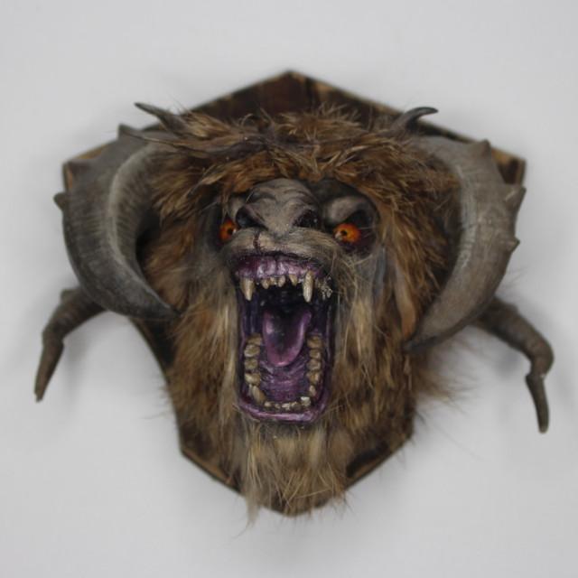 Steef Head Mount - Oddworld's Stranger's Wrath