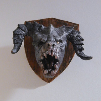 Deathclaw Head Mount - Fallout