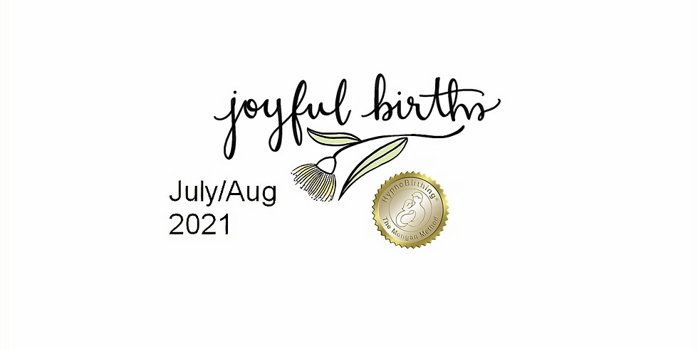 July/Aug HypnoBirthing Course