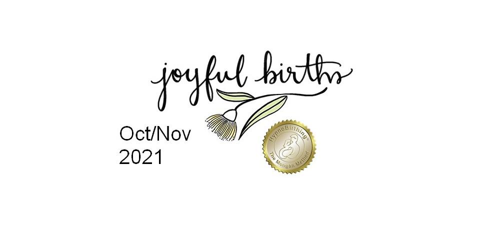 Oct/Nov HypnoBirthing Course