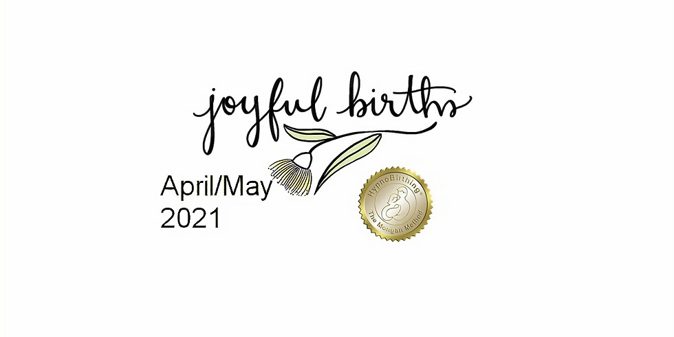 April/May HypnoBirthing Course