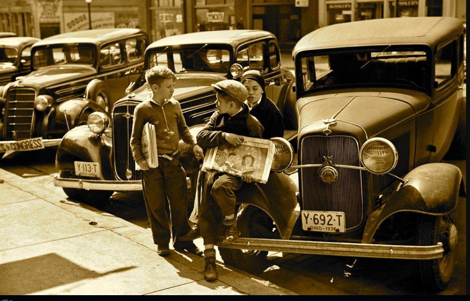 vintage news boys
