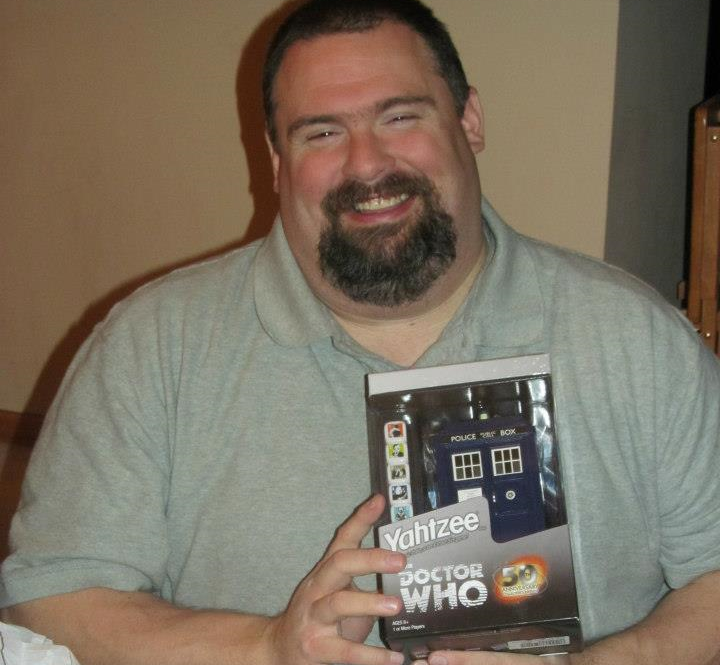 Jay loved Dr. Who!