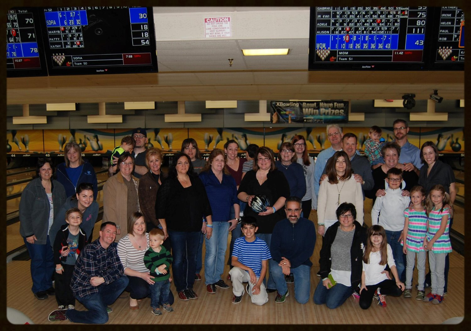Bowling Event November 2015