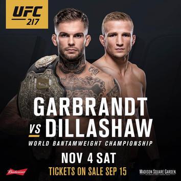 UFC analyse: Cody Garbrandt vs T.J Dillashaw