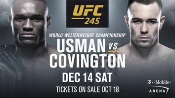 UFC analyse: Kamaru Usman vs Colby Covington. Kampen som bør bli årets kjedeligste