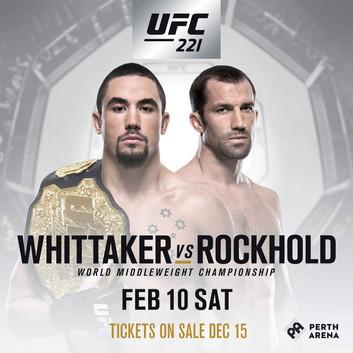GSP gir fra seg tittelen sin igjen! Ny tittelkamp, Whittaker vs Rockhold!