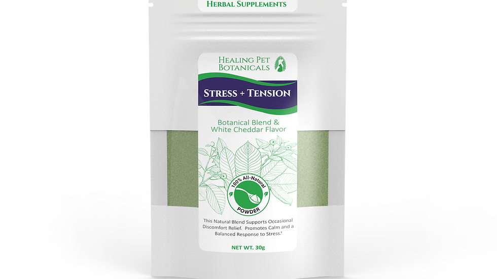 STRESS + TENSION Food Topper - White Cheddar Flavor