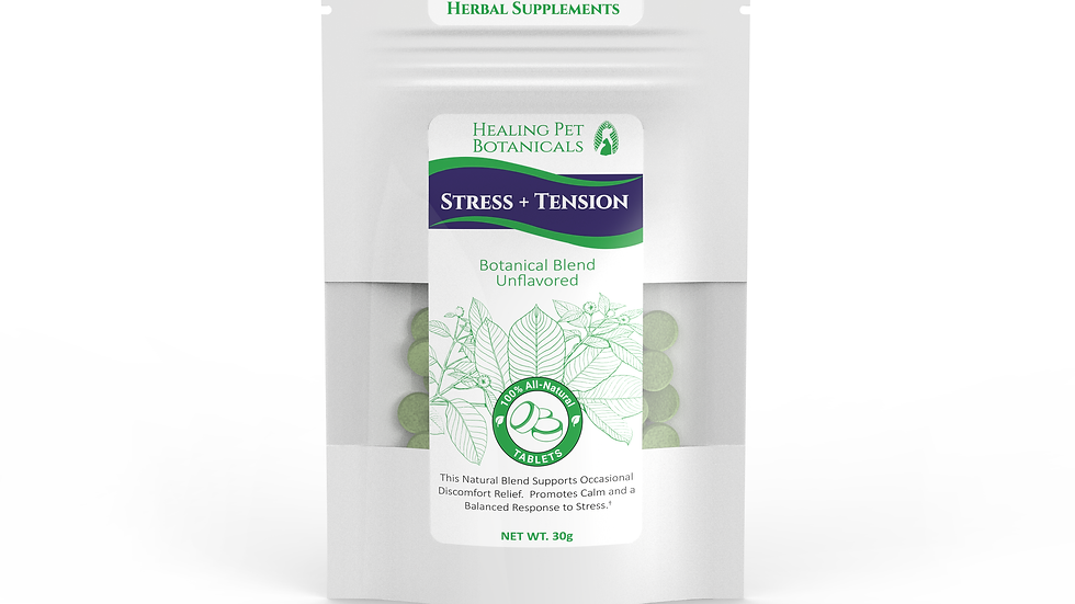 STRESS + TENSION Tablets - Unflavored