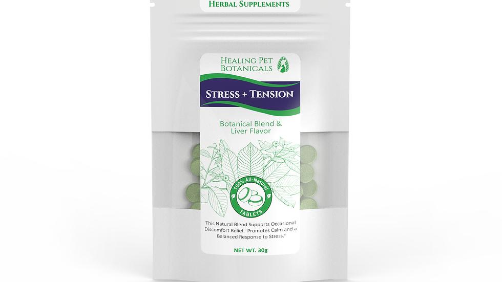 STRESS + TENSION Tablets - Liver Flavor