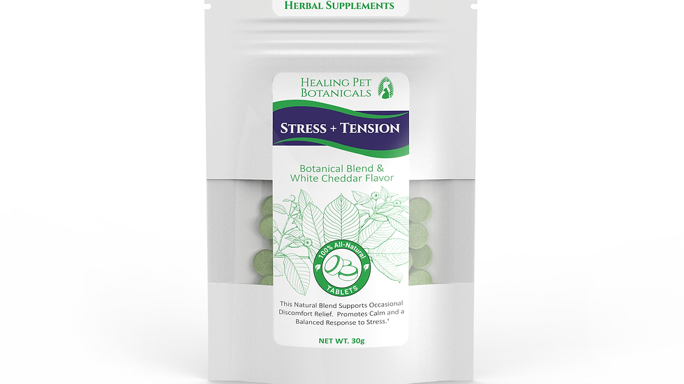 STRESS + TENSION Tablets - White Cheddar Flavor