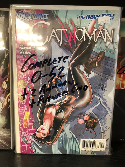 Catwoman New 52 Complete 0-52 Plus 2 Annuals and Future's End