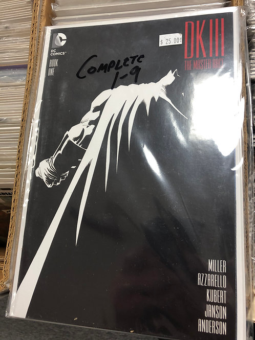 Dark Knight III The Master Race 1-9