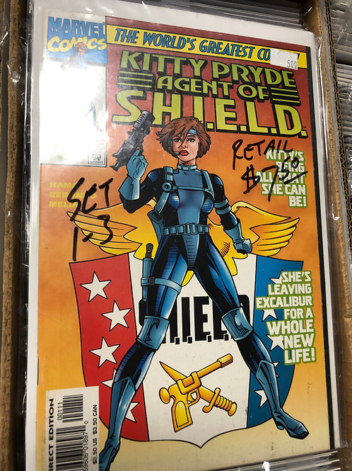 Kitty Pryde Agent of SHIELD 1-3