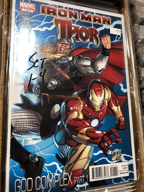 Iron Man Thor God Complex 1-4