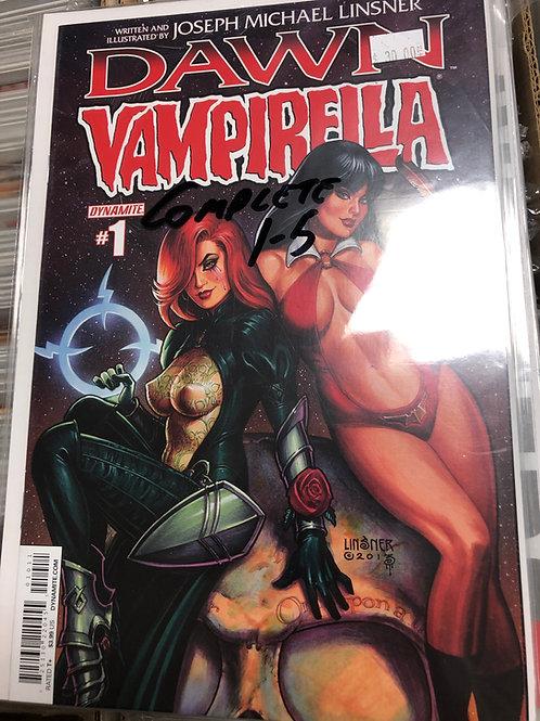 Dawn Vampirella 1-5
