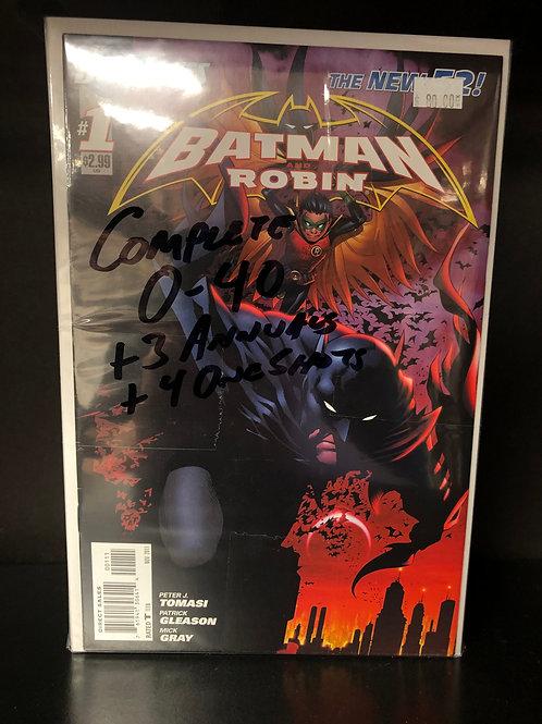 Batman & Robin New 52 0-40 Plus 3 Annuals & 4 One Shots