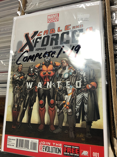 Cable and X-Force Complete Series 1-19