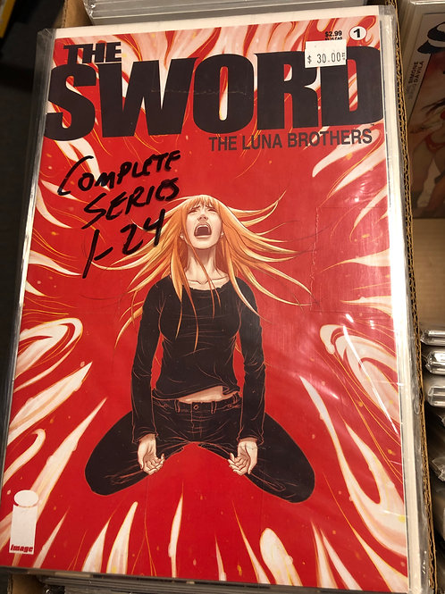 Sword Complete Series 1-24