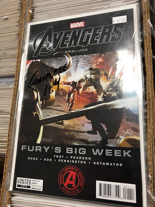 Avengers Prelude Fury's Big Week 1-4