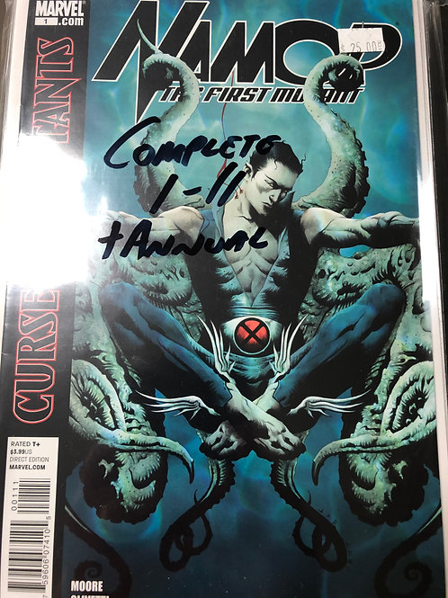 Namor the First Mutant 1-11 plus Annual
