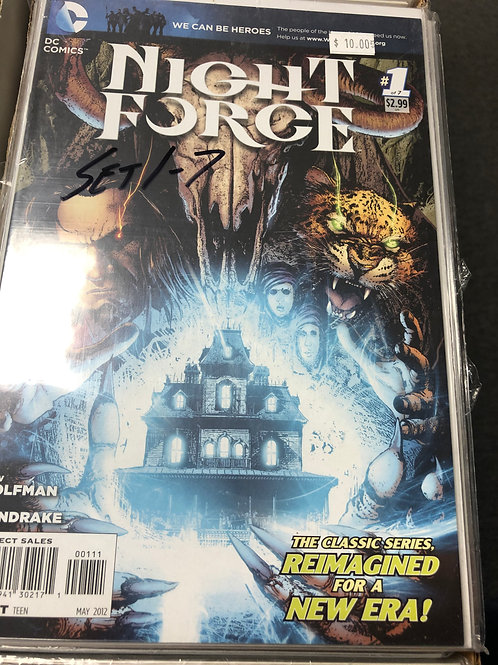 Night Force 1-7