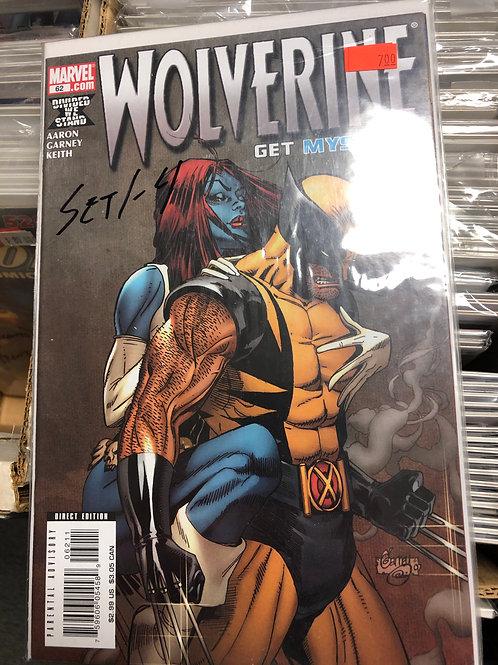 Wolverine Get Mystique 1-4