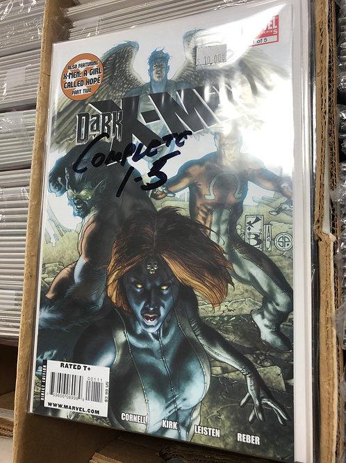 Dark X-Men 1-5