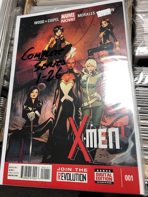 X-Men Complete Series 1-26