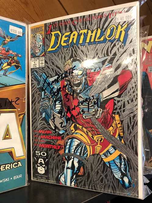 Deathlok Complete Series 1-34, 2 Annuals and 2 Minis